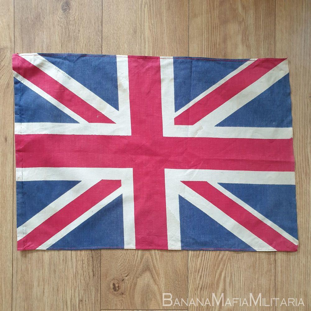 Original WW2 Era Union Jack VE day Flag - Printed 62 x42 cm