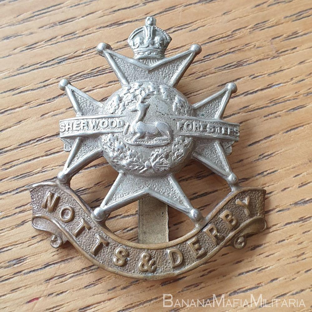 Sherwood Foresters (Nottinghamshire and Derbyshire Regiment) WW2 Cap Badge