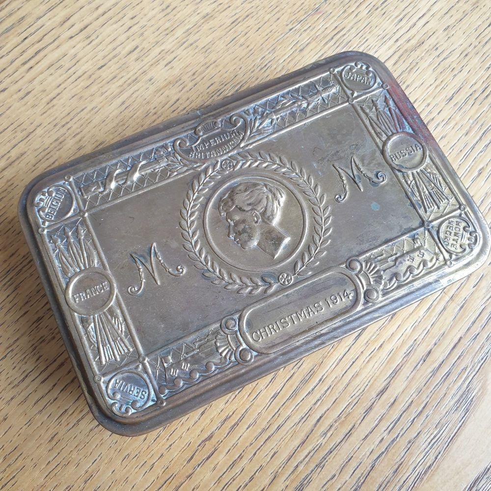 Princess Mary World War One British  1914 Christmas Gift Box Tin