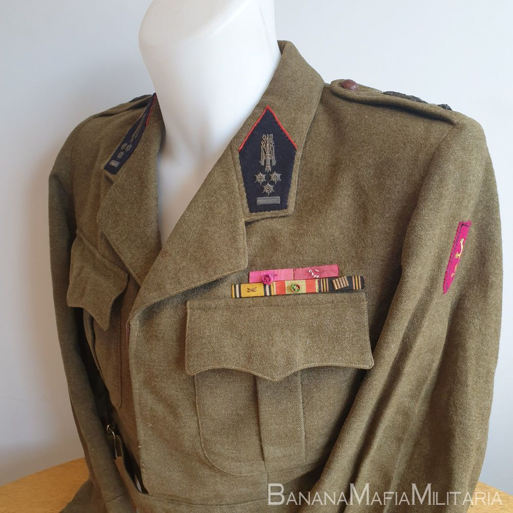Belgian Officers WW2 veterans Battledress Blouse - Colonel BD tailored with