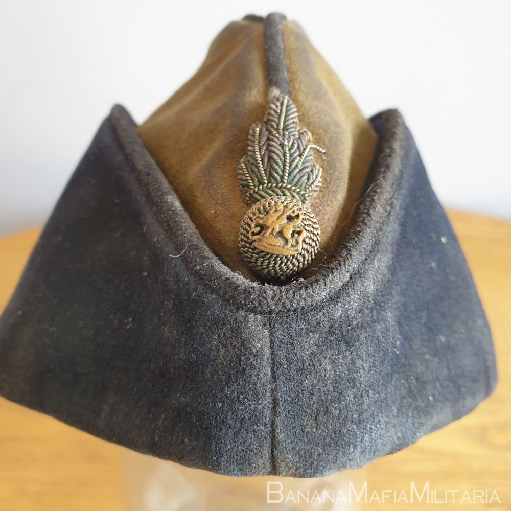 WW2 RNF Officers Coloured Field service Cap - FS CAP Royal Northumberland Fusiliers