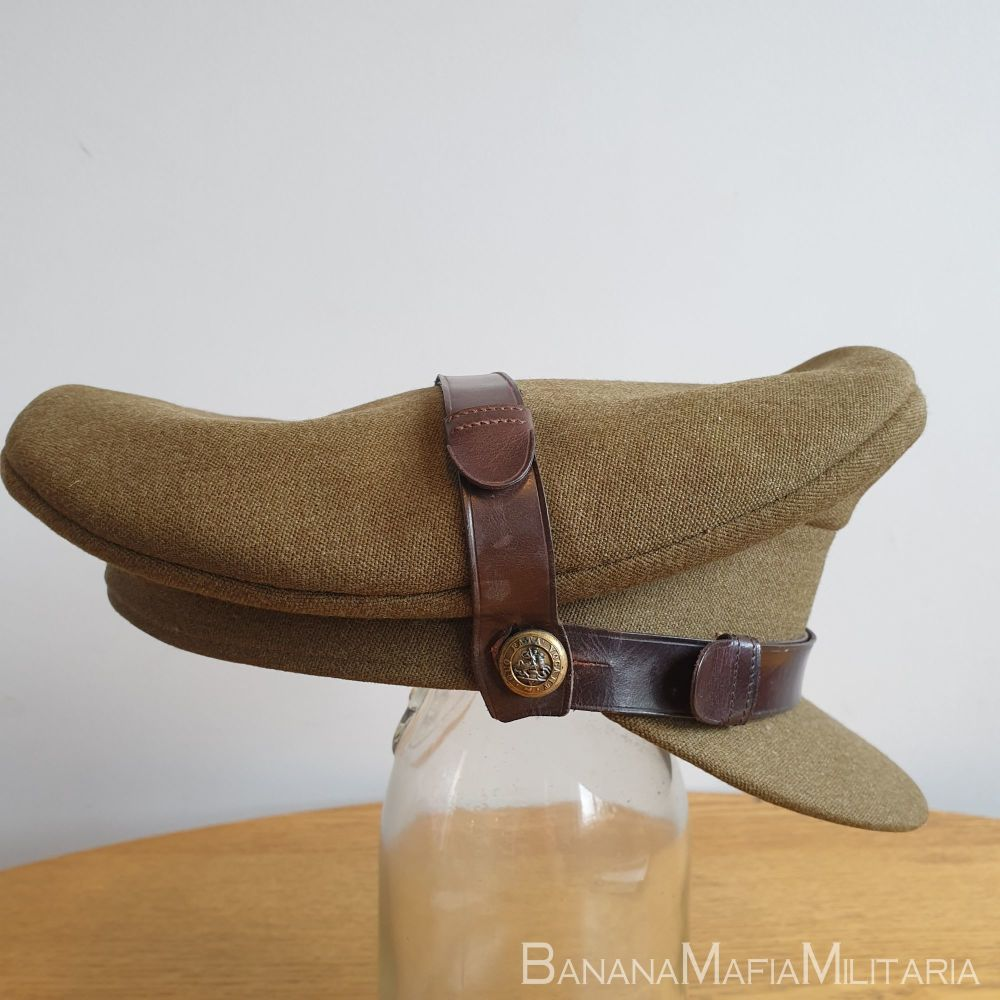 WW2 Style 1950's British army Officers cap - ROYAL NORTHUMBERLAND FUSILIERS