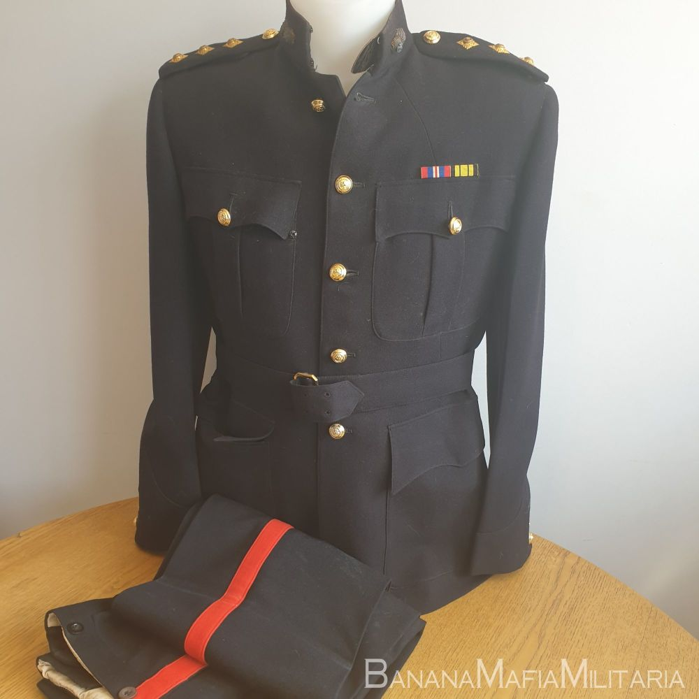 Royal Northumberland Fusiliers - Officer's No1 Dress Uniform  - WW2 Captain