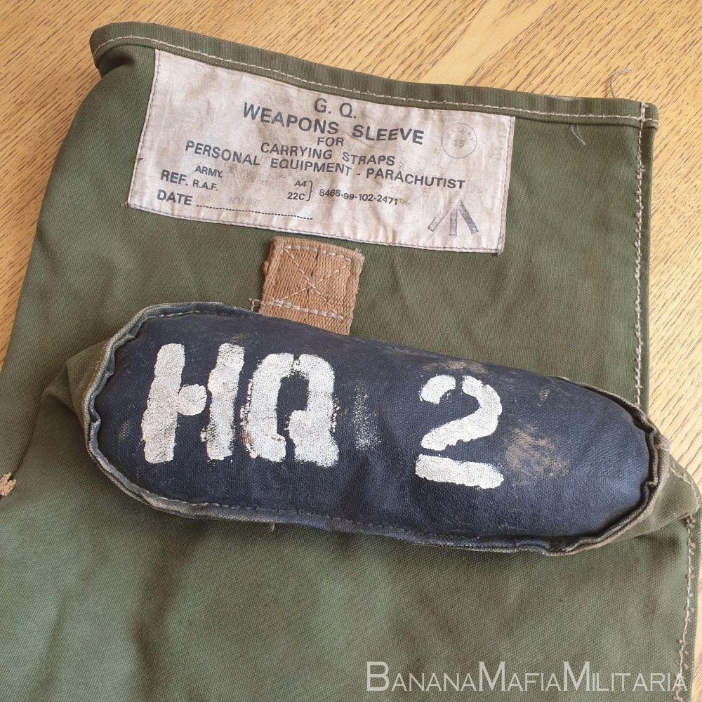 British army Falkland's war ERA  parachutist ME weapon sleeve - PARA HQ