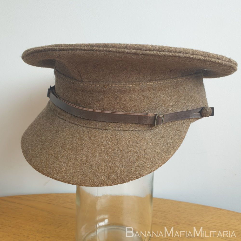 British army offices SD cap 1955 dated