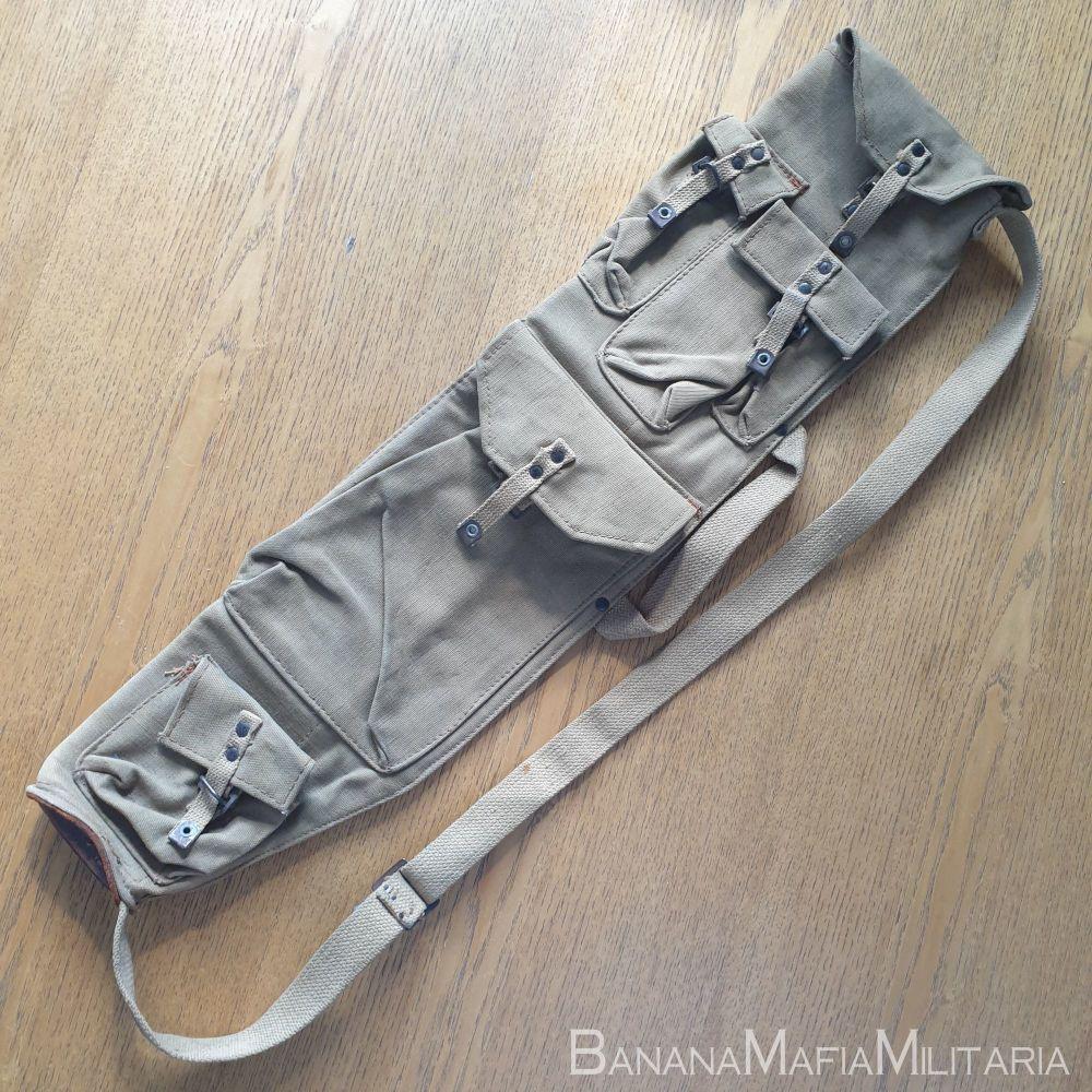 WW2 Canadian Bren Gun Spare Barrel & Parts Bag