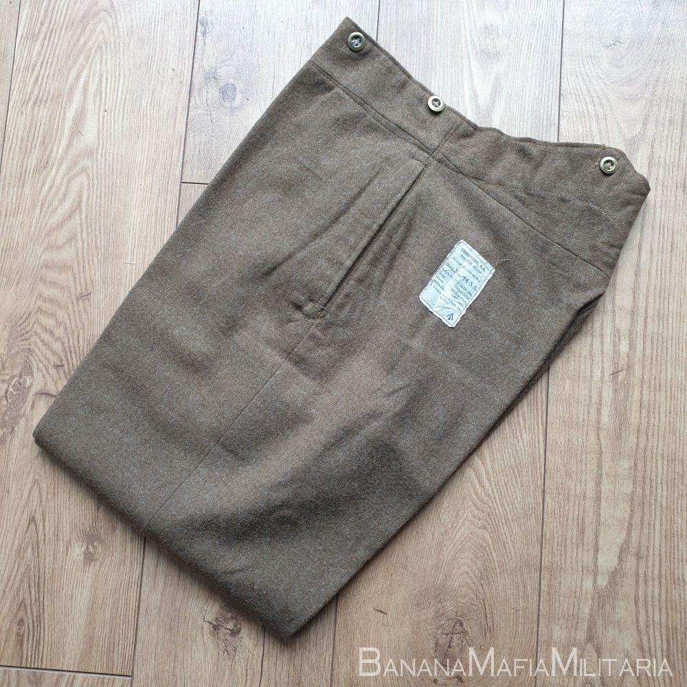 Original WW2  British Army service dress Trousers - 1942 dated size 14
