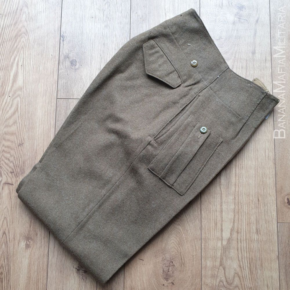 Original WW2  British Army Battle dress Trousers - 1942 dated