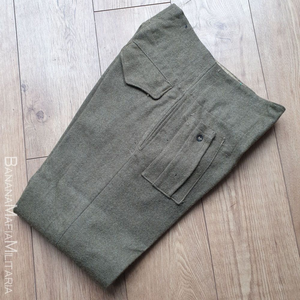 RARE Original WW2  British Army Indian Produced Battle dress Trousers - 1942 dated