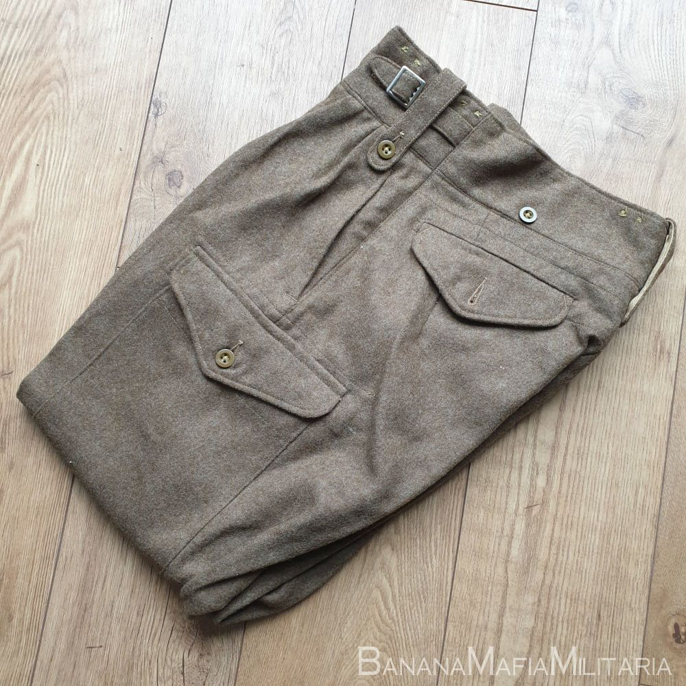 Original 1949 pattern  British Army Battle dress Trousers - 1951 size 9