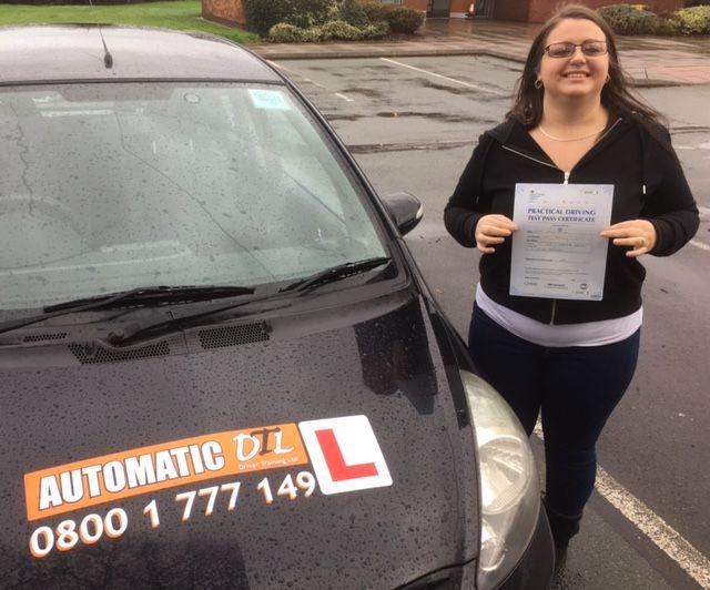 female driving instructor in shifnal shropshire