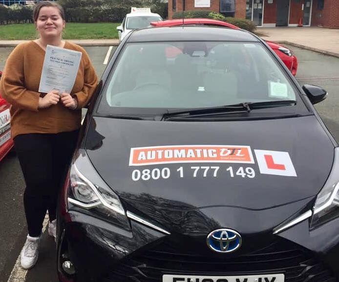 female driving instructor shifnal