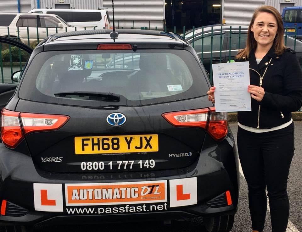 female driving instructor in bridgnorth