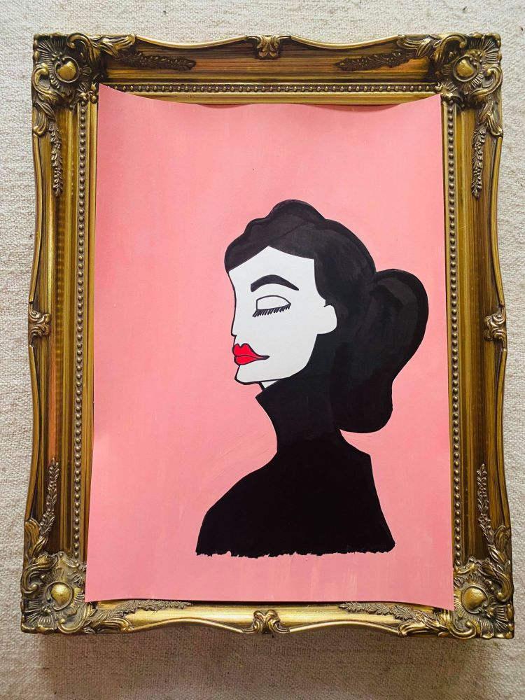 AUDREY - pink limited edition