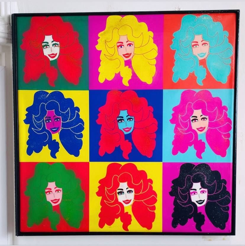 NEON DOLLY 3X3