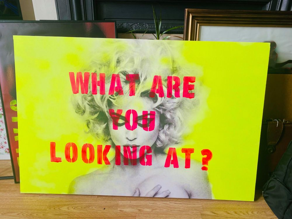 What are you looking at? Limited edition