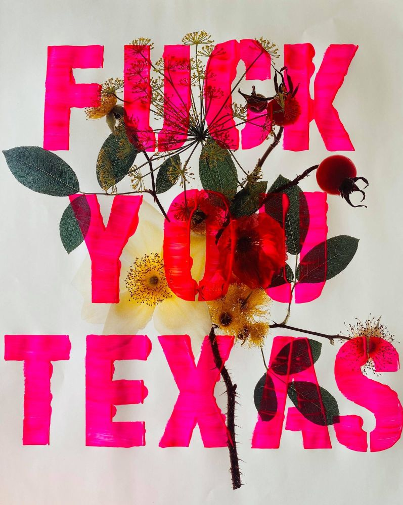 FUCK YOU TEXAS - limited edition