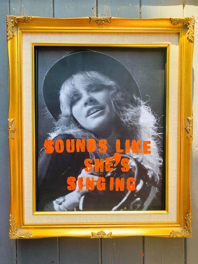 STEVIE NICKS - SOUNDS LIKE SHE'S SINGING