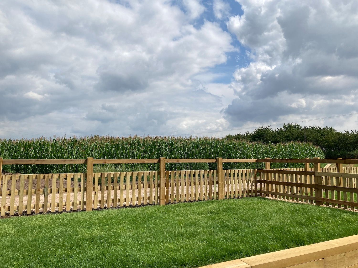 Barley Store Garden and View