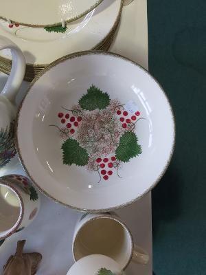 Red Berry Christmas Special design Pasta Bowl