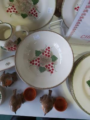 Red Berry Christmas Special design Small fruit desert bowl