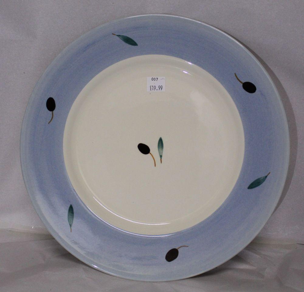 Fresco Dinner Plate Blue