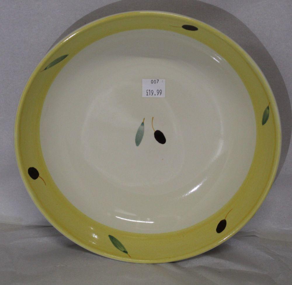 Fresco design Pasta Bowl Yellow