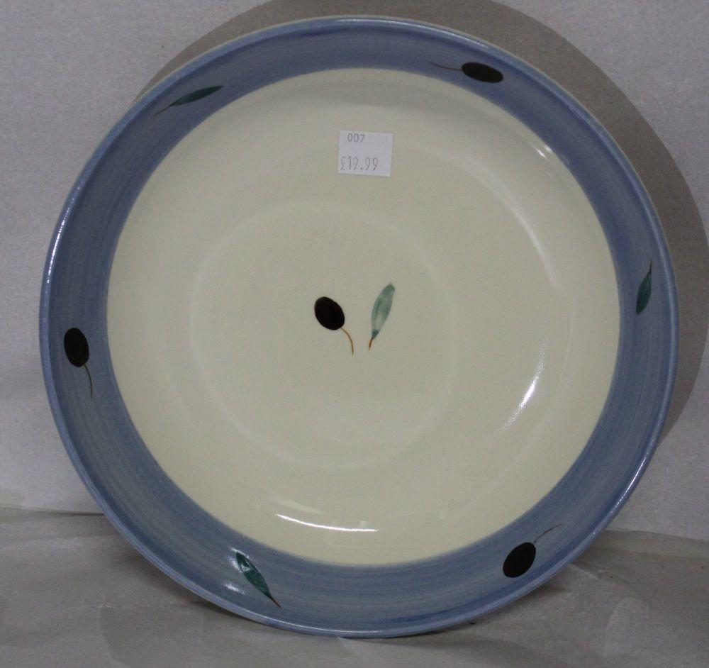 Fresco design Pasta Bowl Blue