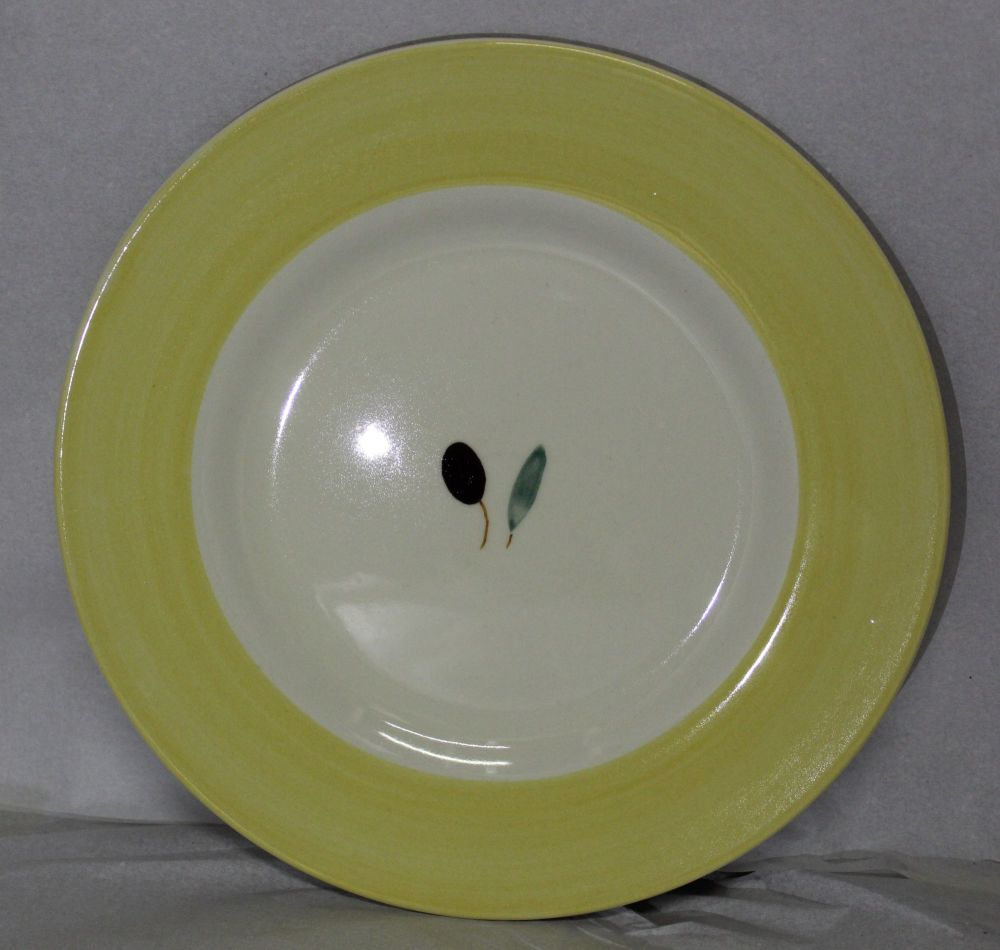 Fresco Side Plate Yellow