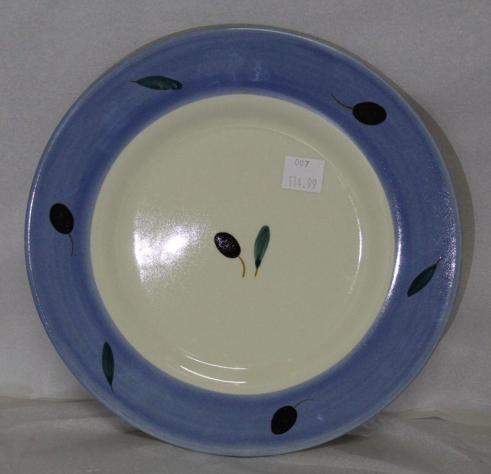 Fresco Side Plate Blue