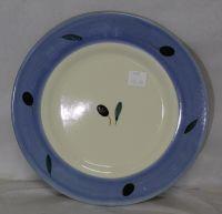 Side Plate - Blue Fresco design