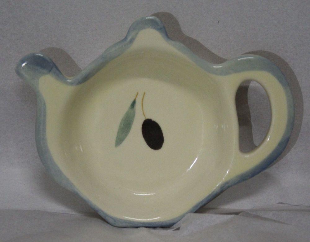 Fresco design Tea Bag Tidy - Blue