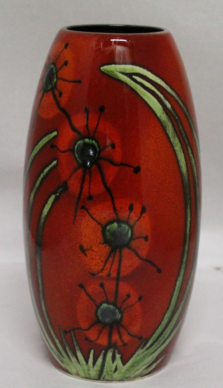 Studio Poole Meadow Torpedo vase