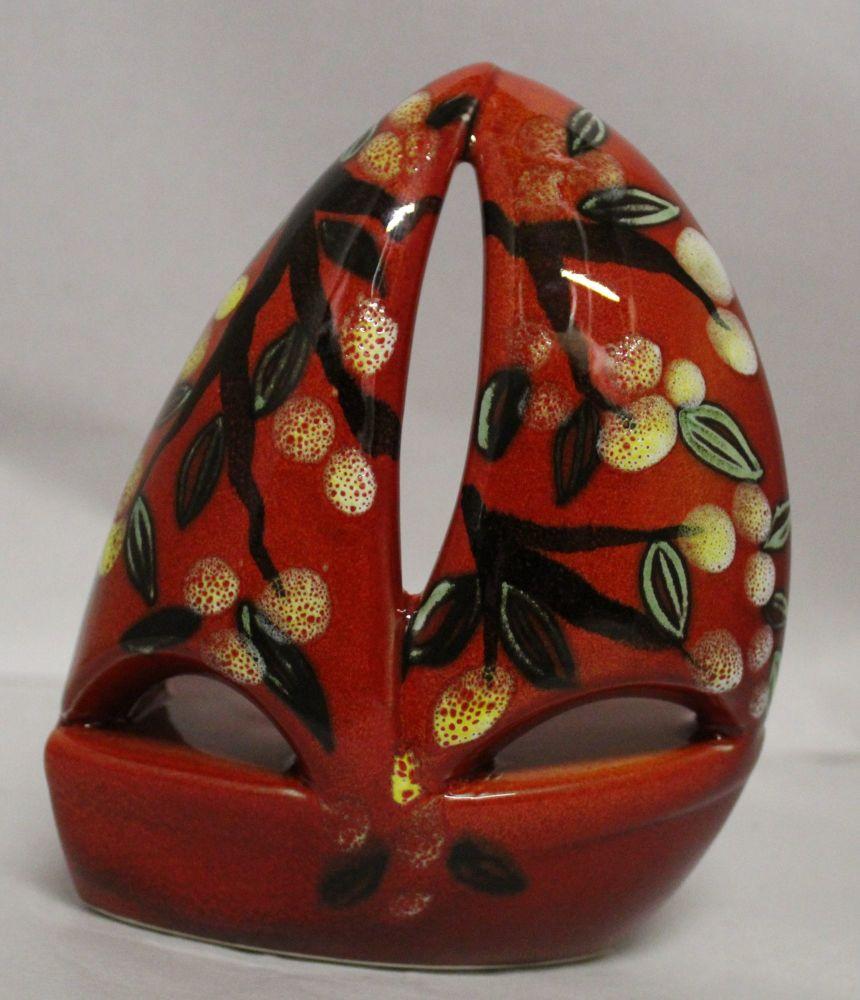 Tealight holder - Studio Poole Blossom