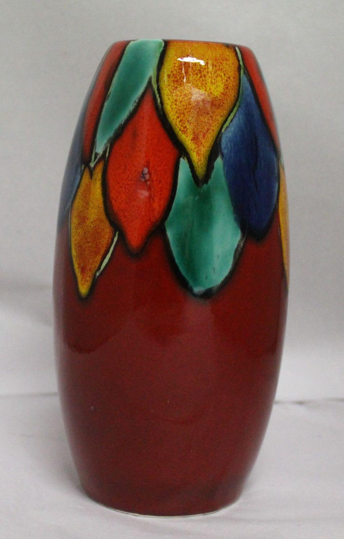 Studio Poole Harlequin Torpedo vase