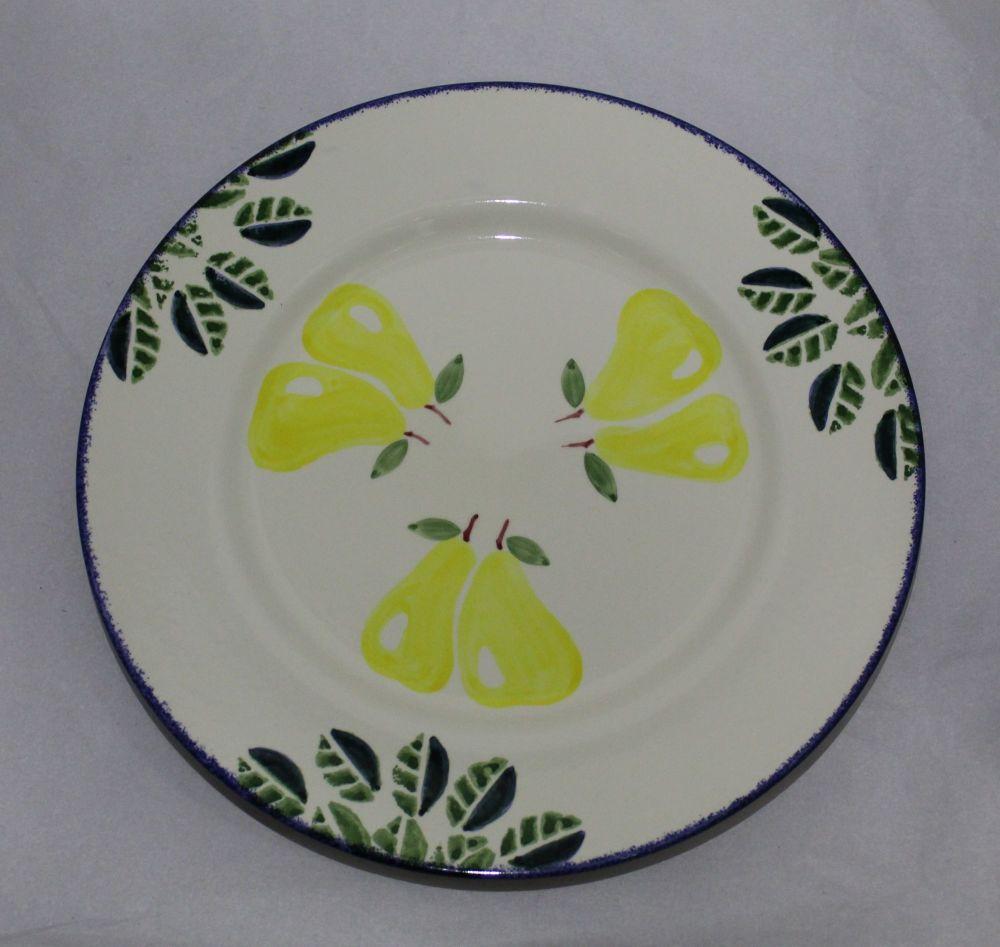 Dinner Plate - Dorset Fruits Pear design