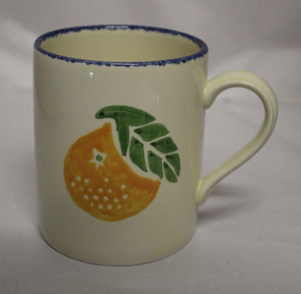 Mug - Dorset Fruits Orange design