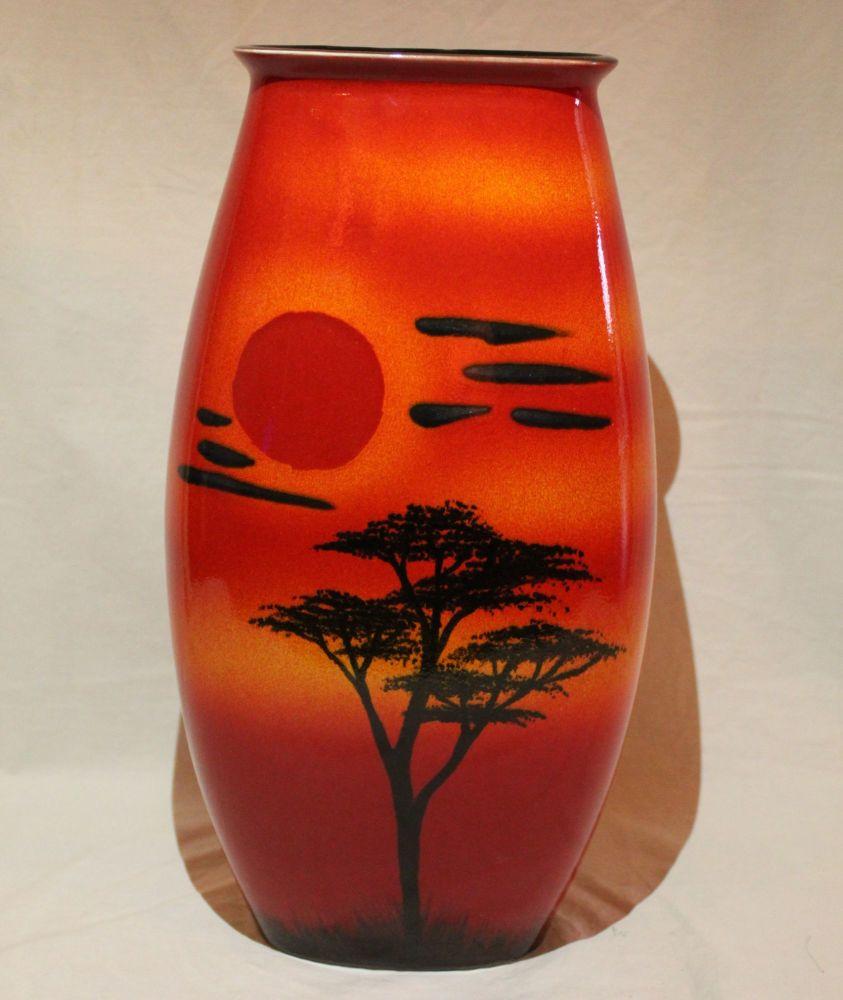 Manhatton Vase - African Sky design