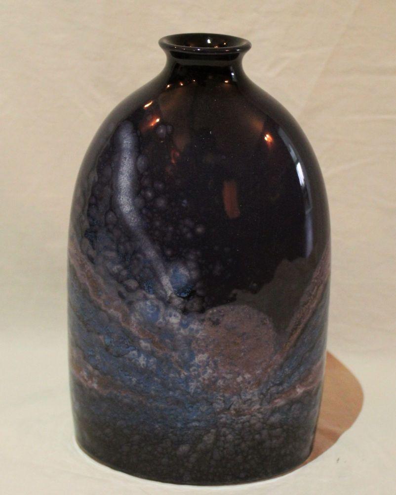 23cm Bottle Vase - Celestial design