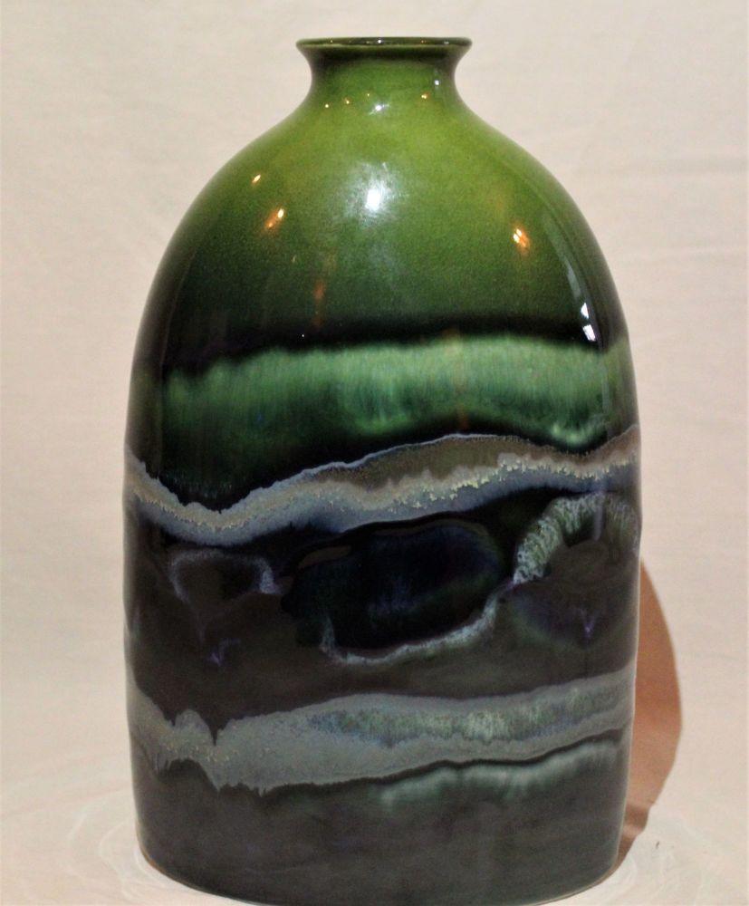 23cm Bottle Vase - Maya design