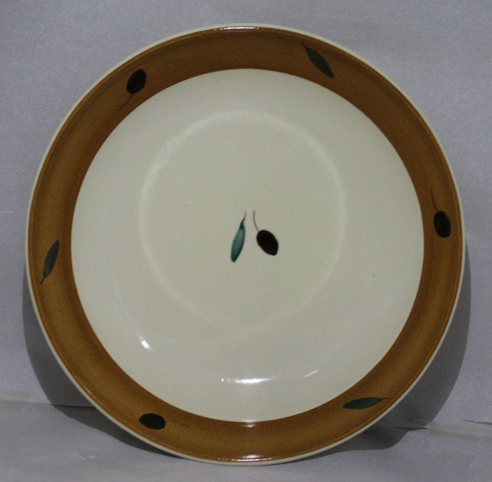 Pasta Bowl - Orange Fresco design