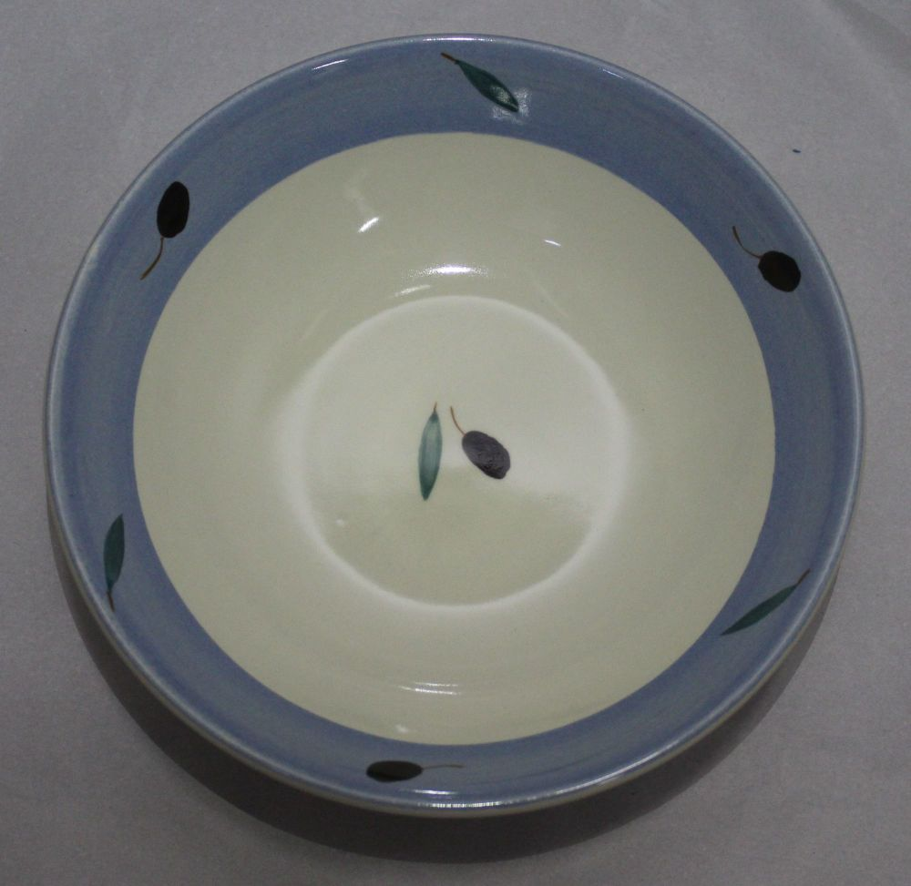 Breakfast Bowl - Blue Fresco design