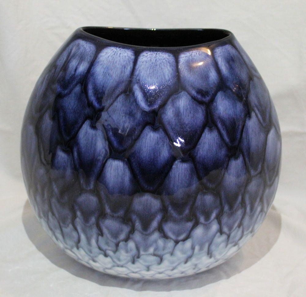 26cm Purse Vase - Ocean design