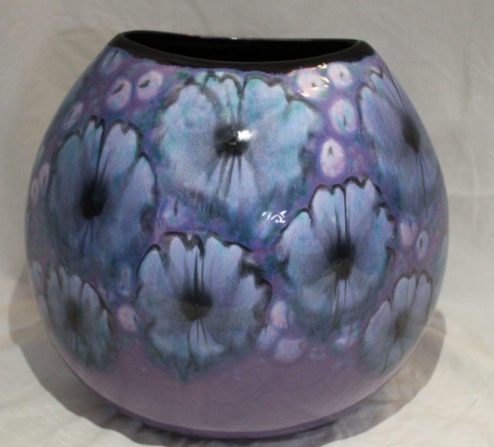 26cm Purse Vase - Jasmine design