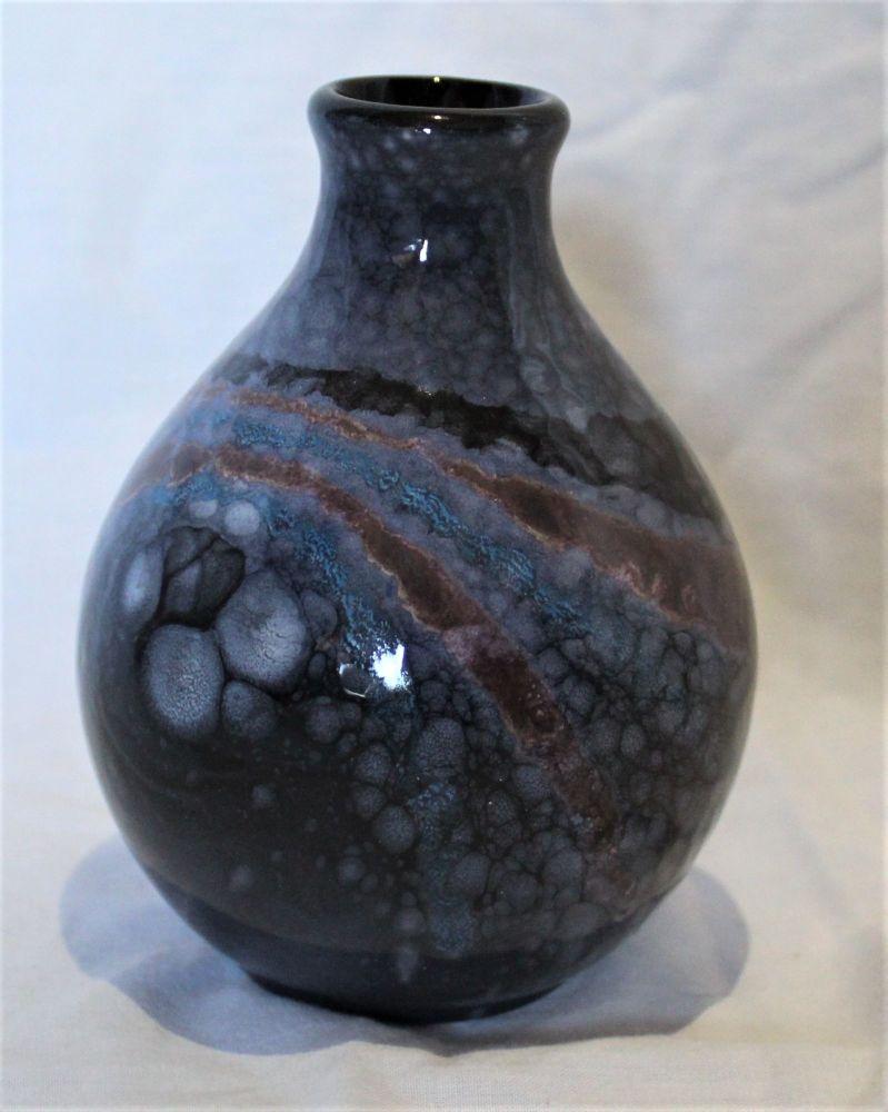 Bud Vase - Celestial design