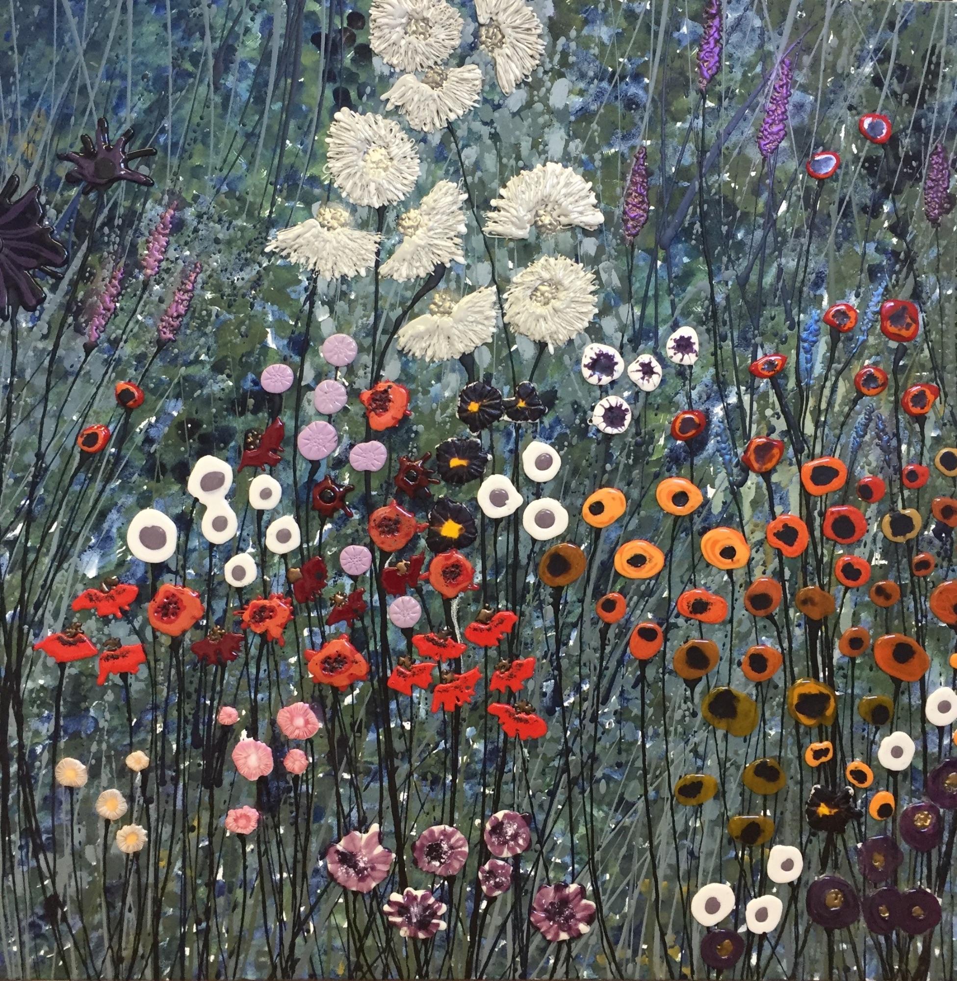 Hint Of Klimt - 100cm x 100cm