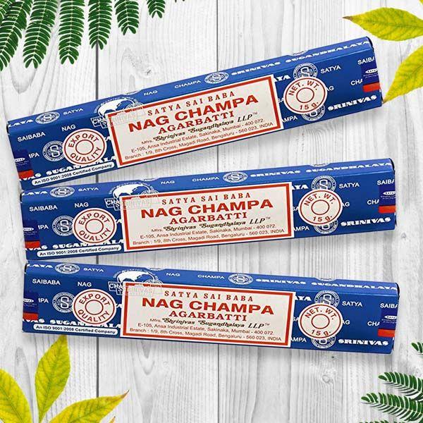 Nag Champa Blue Incense
