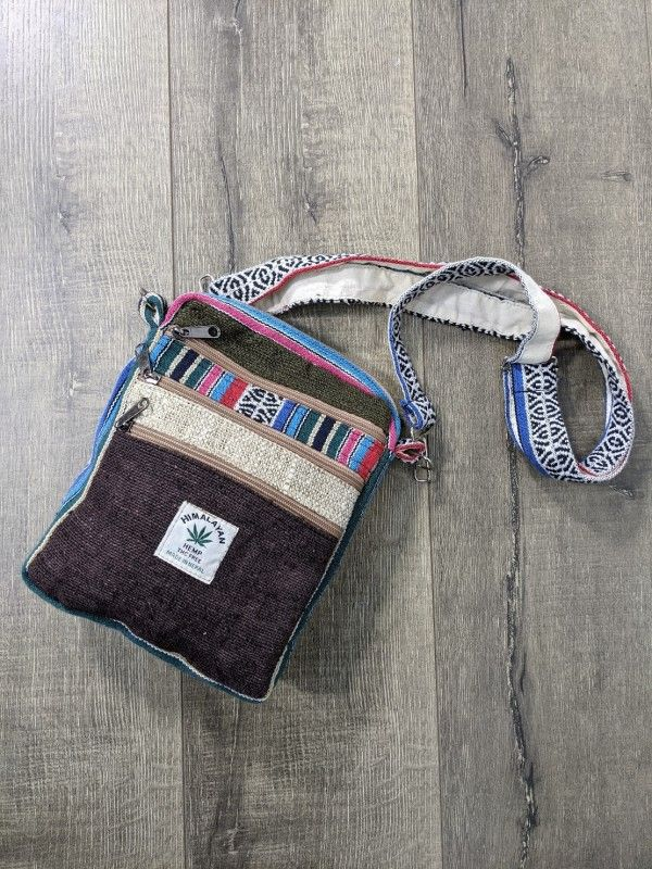Gringo Hemp Gheri Passport Bag - Cotton & Hemp