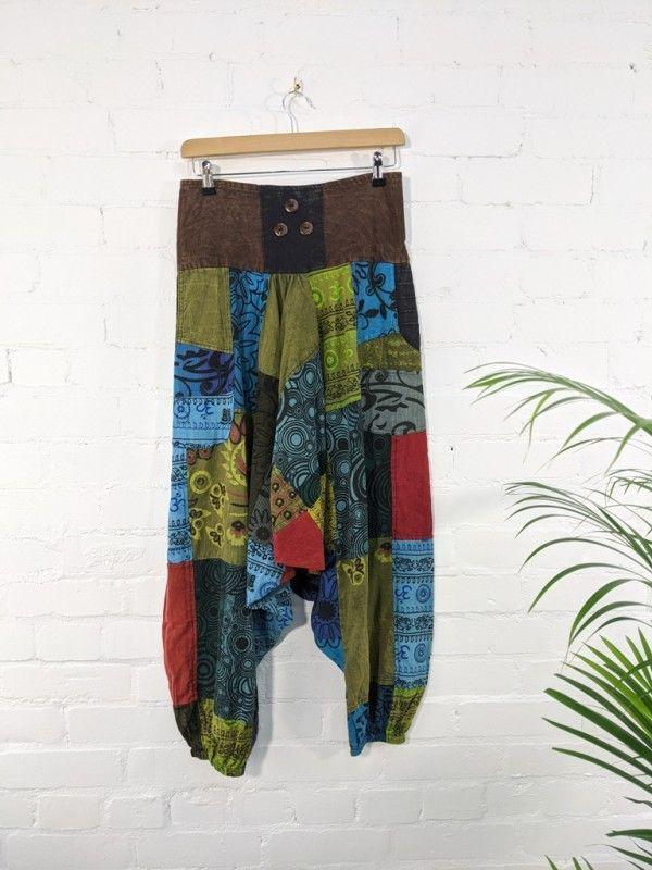 Gringo Fair Trade Afghani Trousers - 100% Cotton