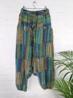Gringo Fair Trade Patchwork Overdyed Afghani Trousers - 100% Cotton
